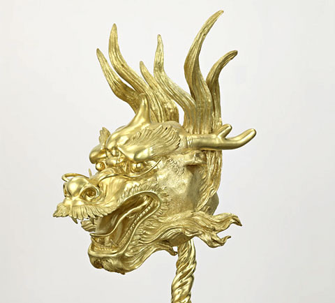 Zodiac Heads: Gold